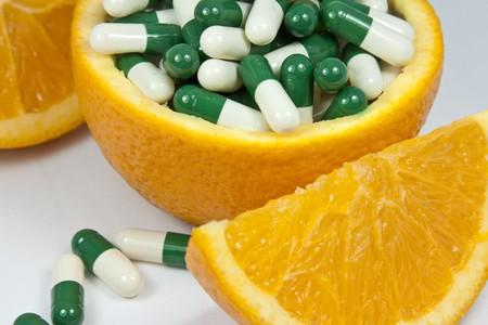 Orange and capsule