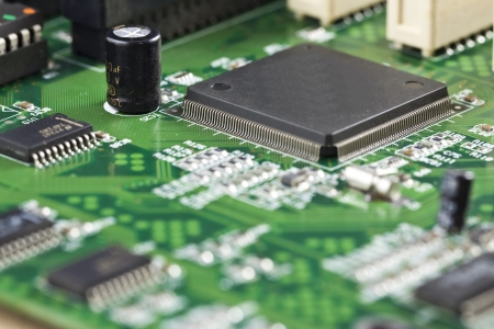 components: Close-up of chip inform�tico