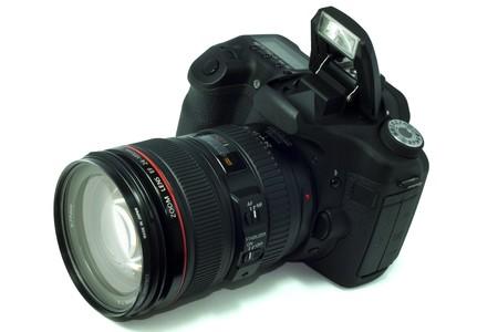 DSLR camera, isolated on white Stock Photo - 7494163