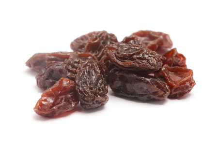 raisin: Raisins isolated on a white background  Stock Photo