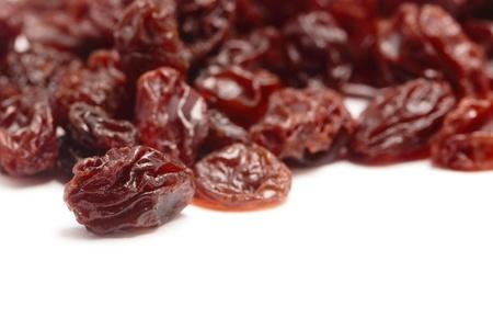 Raisins isolated on a white background  photo