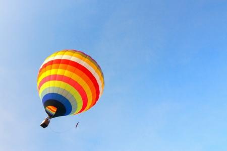 Colorful Hot Air Balloon Banco de Imagens