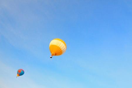 Colorful Hot Air Balloon Stock Photo