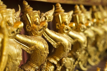 Fairy tale of thai buddhist Stock Photo