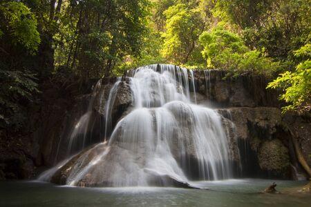 Mae-Ka-Min Waterfall, Kanchanaburi Province, Thailand