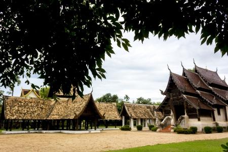 vihar: Wat Ton Kain, Chiang Mai Thailand Editorial