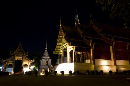 vihar: Wat Phra Singh Woramahaviharn at Chiangmai, Thailand