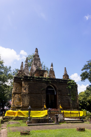 sainthood: Church of Wat Ched Yod with Thai Lanna style