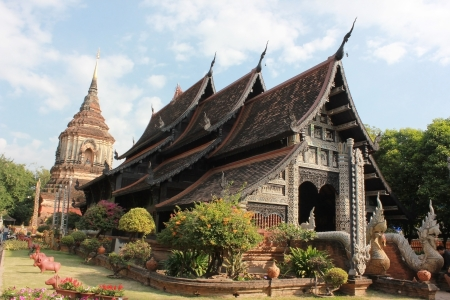 Wat Lok Moli is a Buddhist temple (Thai language:Wat) in Chiang Mai, northern Thailand. The temple is situated on the north side of the north moat surrounding the old part of the city, about 400 meters west of the Chang Phuak city gate.