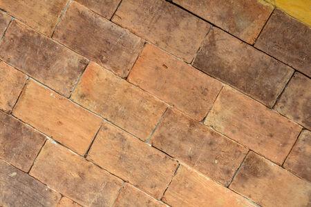 vintage look: brick wall with vintage look.