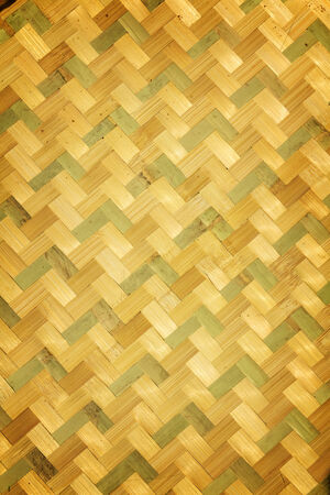 rattan mat: Old wicker texture background .Bamboo texture and background