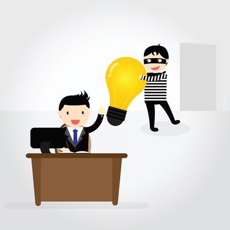beroofd: Dieven beroofden idee van zakenman