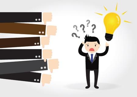 フィードバック、ビジネス コンセプト  イラスト・ベクター素材