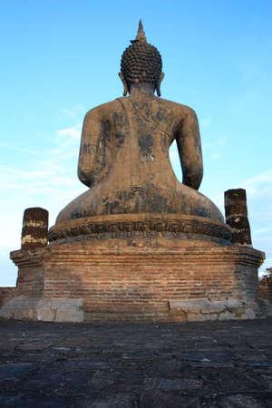 Back buddha photo