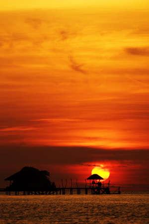 Sunset Relax photo