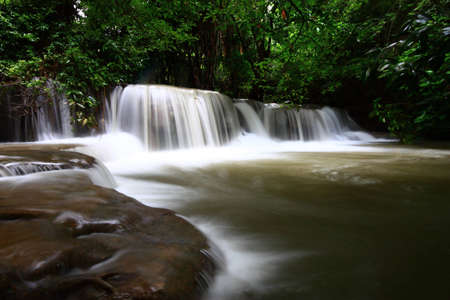 Thai waterfall photo