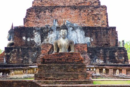 Buddha at the ancient capital of Sukhothai, Thailand.