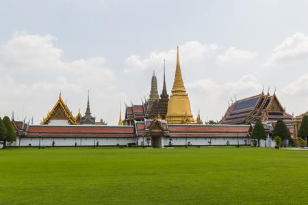 Wat Phra Kaew, Temple of the Emerald Buddha, full official name is Wat Phra Si Rattana Satsadaram in Bangkok, Thailand