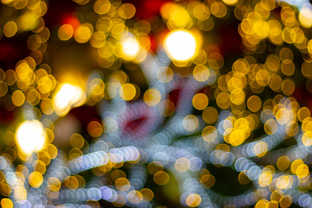 blurred abstract bokeh background for Decorations for Festivities, New Year and Holidays, Christmas