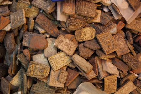 small buddha image used as amulets. Zdjęcie Seryjne