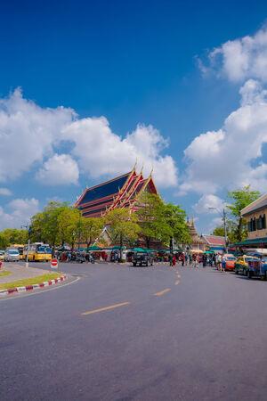 Buddhist temple, Wat Pho in Thailand Publikacyjne