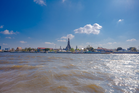 Photo of Landscape Wat Arun Buddhist religious places of importance to the field
