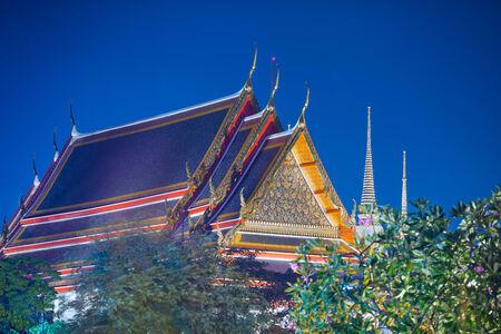 Buddhist temple, Wat Pho in Thailand Zdjęcie Seryjne