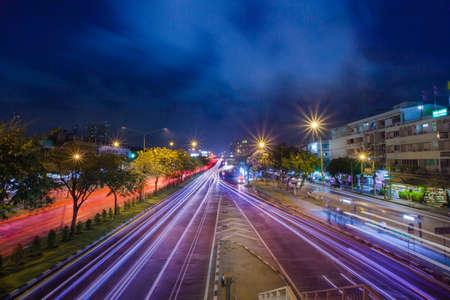 Krungthep bridge, bangkok, thailand