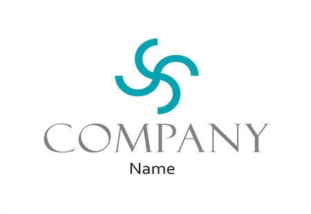 Company vector logo design template