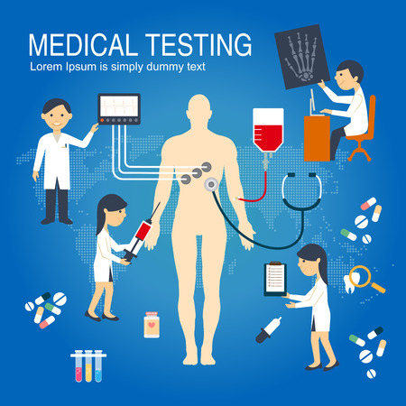 medical checkup: Medical Checkup Infographics