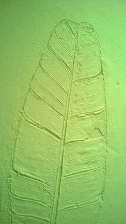 banana leaf: The banana leaf green wall texture Stock Photo