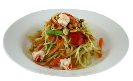 Thai Papaya Salad Stock Photo - 14604619