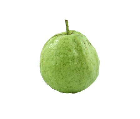 guava fruit on white background photo