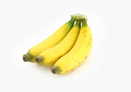 ripe bananas isolated on white background  Stock Photo - 17686724