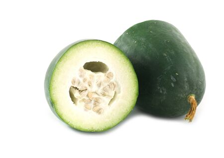 Winter melon on white background 版權商用圖片