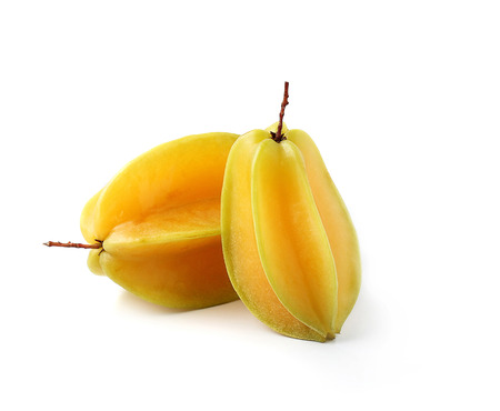 star apple fruit isolated on white background