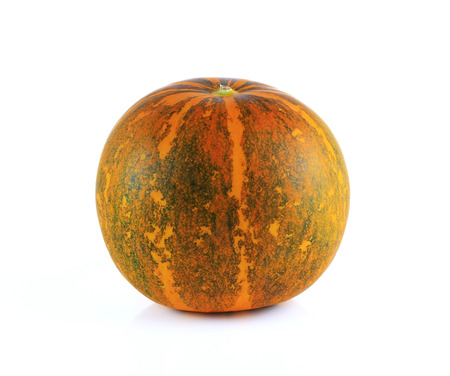 agricultural essence: Thai cantaloupe melon isolate on white background