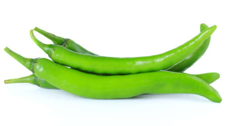 dialectic: chili peppers isolate on white background Stock Photo