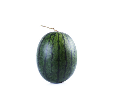 liable: watermelon isolate on white background