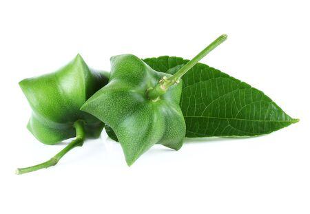 green bean: Sacha-Inchi fresh peas Stock Photo