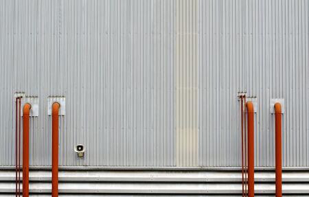 factory wall Stock Photo - 12288374