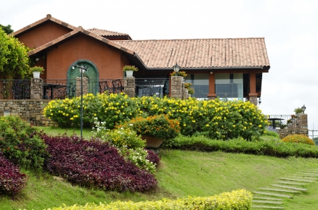 vintage garden house