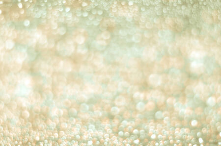 White and Gold Lights Background Stock Photo