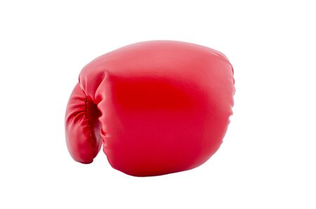 Boxing gloves with white background Stock Photo