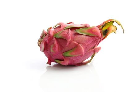 Dragon fruit isolated in white background  photo