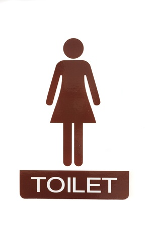 Female toilet sign  photo