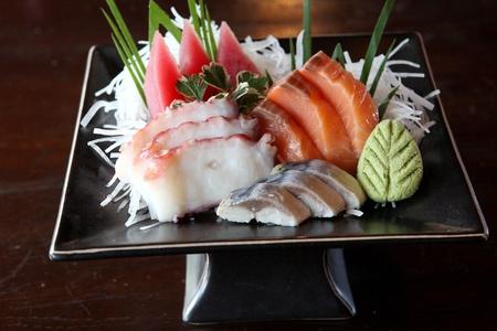 Mix sashimi Stock Photo - 10084259