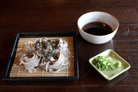 Soba : japanese noodle  photo