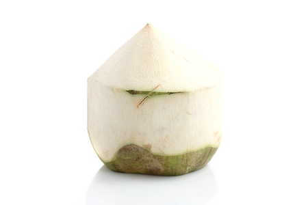 coconut isolated in white background Stock Photo - 10203042