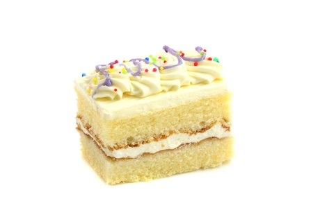 afternoon fancy cake: Cake isolated in white background